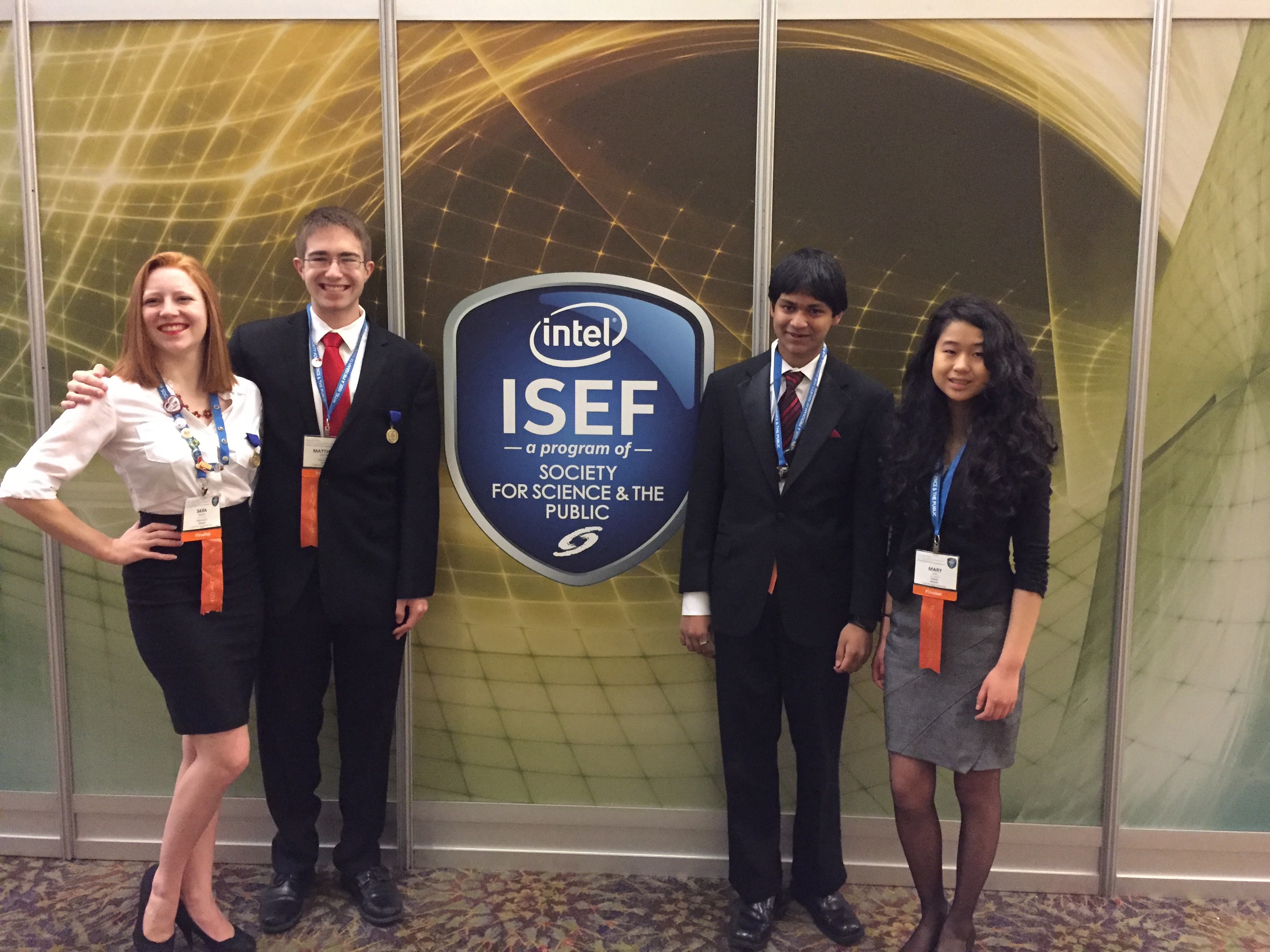 NH students at ISEF 2016